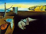 clock melting clocks by Salvador Dali